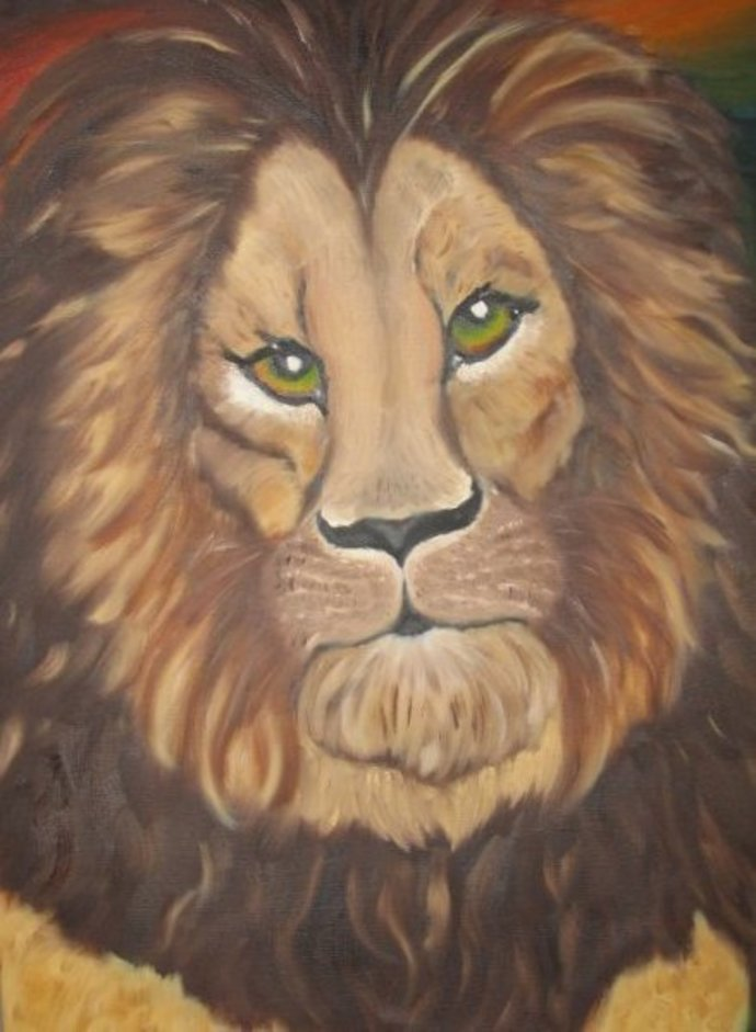 Aslan, the Lion King of Narnia and Easter Symbol