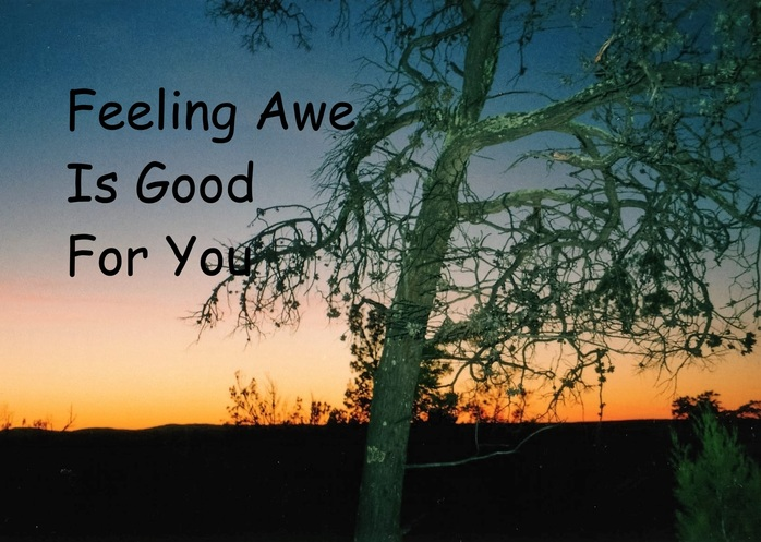 Feeling Awe Is Good For You