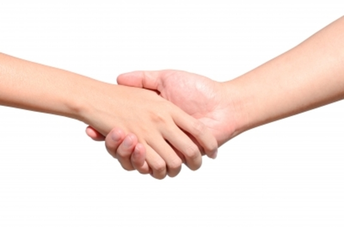 Business Woman, Woman Shaking Hands