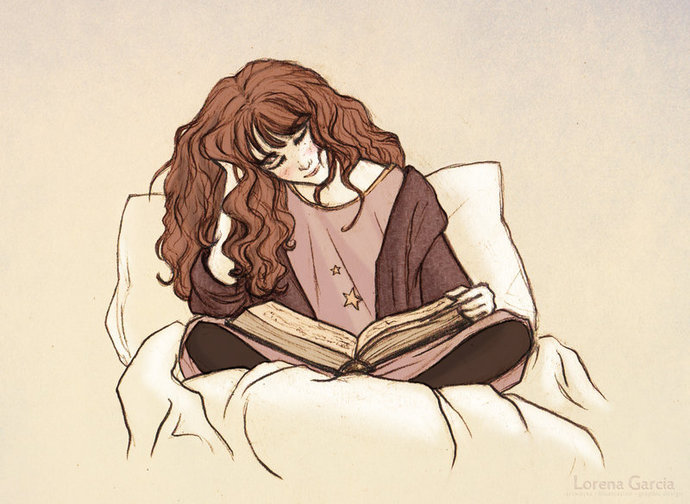 Image source: http://afrogirltalks.com/wp-content/uploads/2013/10/hermione_reading_before_bed_by_lincevioleta-d5t9ofg1.jpg