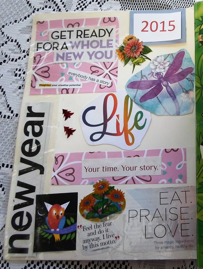 Inspiration, New Year, Quotes, Resolutions, Scrap Book