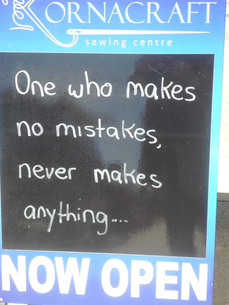 Making Mistakes Quote  - Make Mistakes Or Make Nothing
