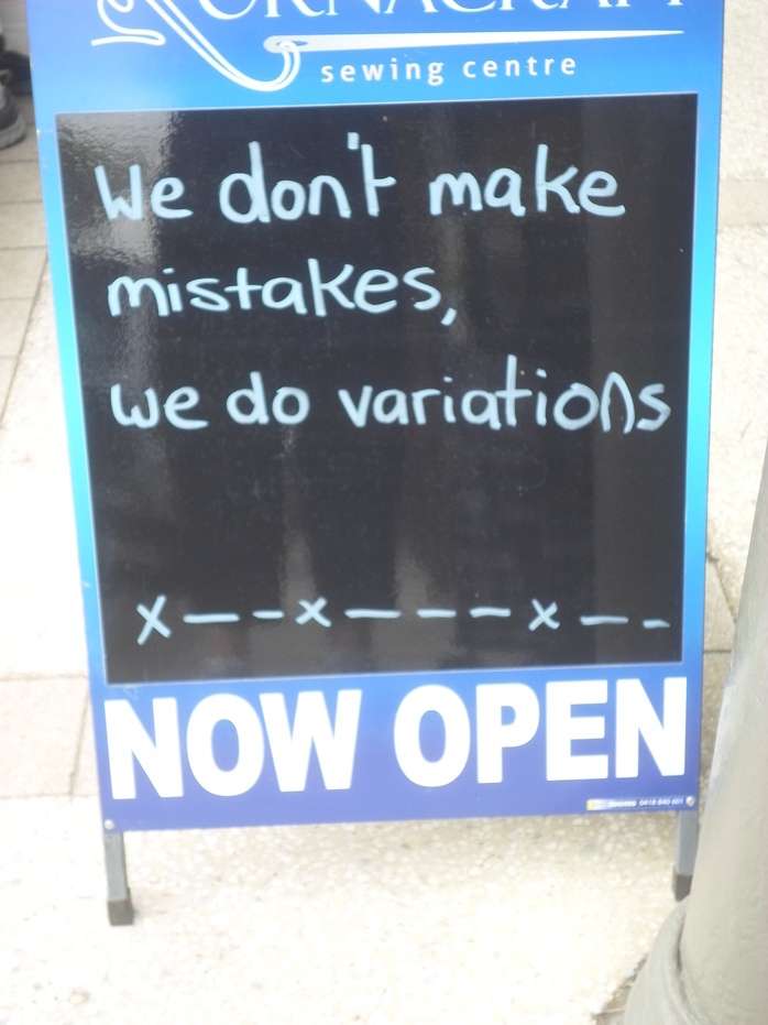 Sign Outside Travel Agency
