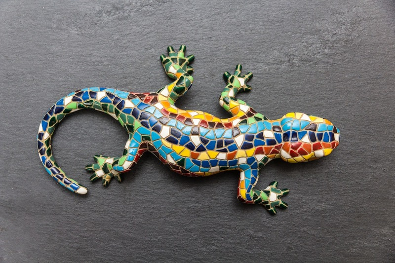 Mosaic gecko  - It Is Important To Delete