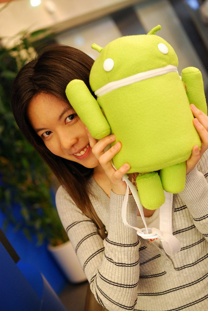 robot,android,green