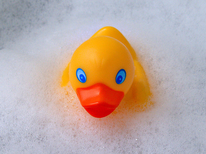 Rubber Duck, Duck in Bath