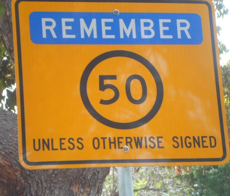 Speed Limit 50  - The Influence Of Yellow