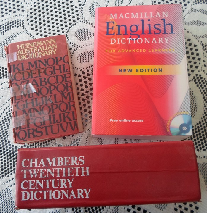 Three Dictionaries
