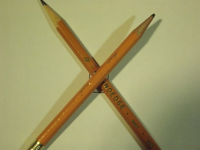 Two Pencils image courtesy of morguefile