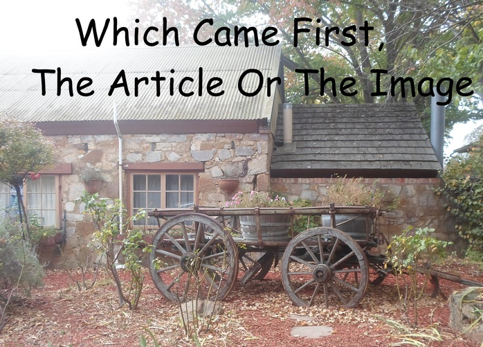 Which came First, The Article Or The Wagon